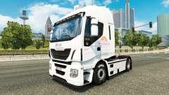 Скин Pink Plush AG на тягач Iveco для Euro Truck Simulator 2