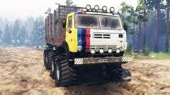 КамАЗ-5322 8x8 для Spin Tires