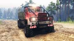 КрАЗ-255 СССР для Spin Tires