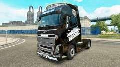 Скин World of Tanks на тягач Volvo для Euro Truck Simulator 2