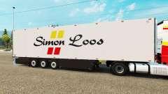 Полуприцеп-рефрижератор Schmitz Simon Loos для Euro Truck Simulator 2
