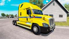 Скин Penske на тягач Freightliner Cascadia для American Truck Simulator