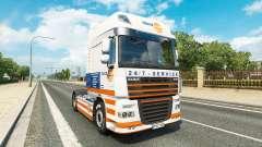 Скин Truckland на тягач DAF для Euro Truck Simulator 2
