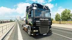 Скин Relentless на тягач DAF для Euro Truck Simulator 2