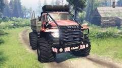 Урал-4320 Полярник v12.0 для Spin Tires