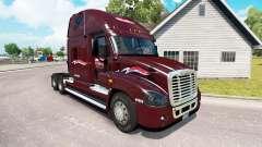 Скин Millis на тягач Freightliner Cascadia для American Truck Simulator