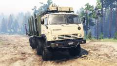 КамАЗ-63501-996 Мустанг для Spin Tires