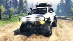 Toyota Land Cruiser 100 2000 [Samuray] v3.0 для Spin Tires