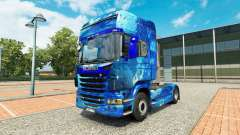 Скин Water на тягач Scania для Euro Truck Simulator 2
