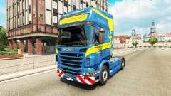 Скин Wittwer на тягач Scania для Euro Truck Simulator 2