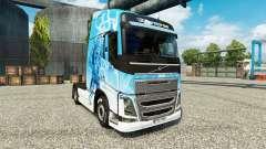 Скин Klanatrans на тягач Volvo для Euro Truck Simulator 2