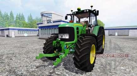 John Deere 6930 v3.3 для Farming Simulator 2015