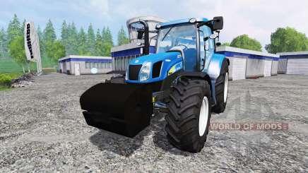 New Holland TS 135A для Farming Simulator 2015