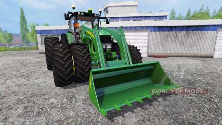 John Deere 6930 FL v2.2 для Farming Simulator 2015