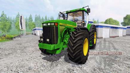 John Deere 8400 v4.0 для Farming Simulator 2015
