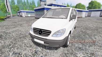 Mercedes-Benz Viano 2005 для Farming Simulator 2015
