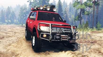 Mitsubishi Pajero 2006 для Spin Tires