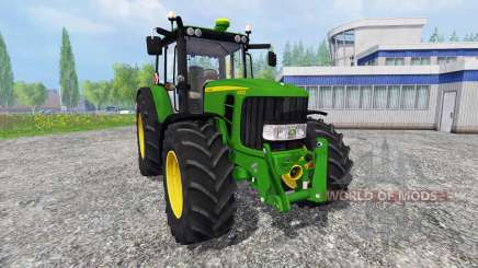 John Deere 6830 Premium [washable] для Farming Simulator 2015