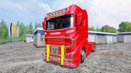 Scania R1000 для Farming Simulator 2015