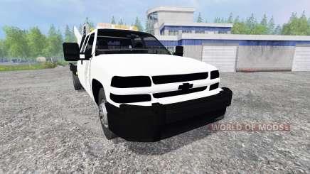 Chevrolet Silverado Flatbed для Farming Simulator 2015