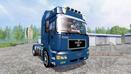 MAN F2000 19.603 FLS v1.4 для Farming Simulator 2015