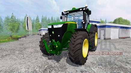 John Deere 7310R v4.0 для Farming Simulator 2015