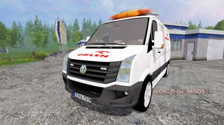 Volkswagen Crafter Orlen для Farming Simulator 2015