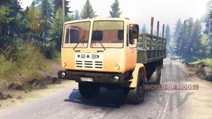 КАЗ-4540 для Spin Tires