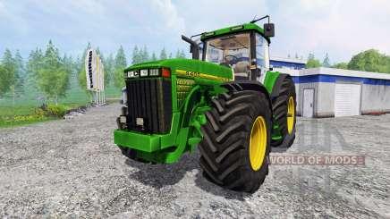 John Deere 8400 [wheelshader] для Farming Simulator 2015