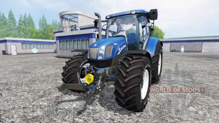 New Holland T6.175 v1.2 для Farming Simulator 2015