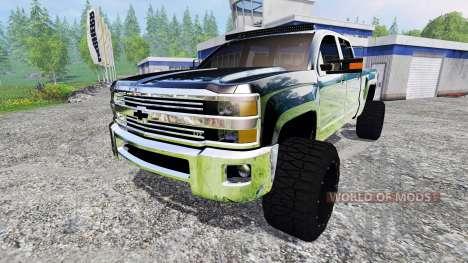 Chevrolet Silverado 2500 (GMTK2H) v3.0 для Farming Simulator 2015