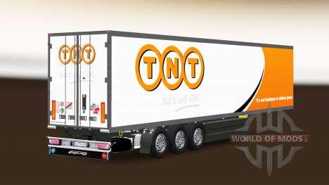 Полуприцеп-рефрижератор Schmitz Cargobull TNT для Euro Truck Simulator 2