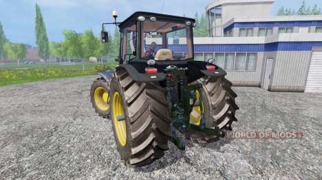 John Deere 8530 v3.0 [black limited edition] для Farming Simulator 2015
