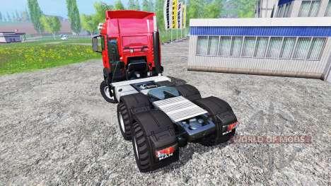 MAN TGS 18.440 для Farming Simulator 2015