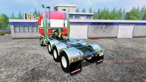 Kenworth K100 v2.1 для Farming Simulator 2015