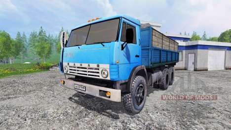 КамАЗ-55102 для Farming Simulator 2015