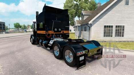 Скин SRS National на тягач Peterbilt 389 для American Truck Simulator