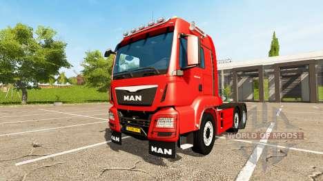 MAN TGS 18.440 6x4-4 для Farming Simulator 2017