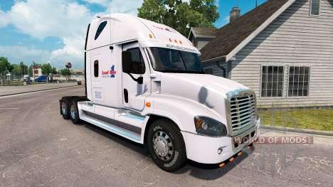 Скин Load One на тягач Freightliner Cascadia для American Truck Simulator