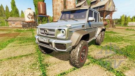 Mercedes-Benz G65 AMG 6x6 для Farming Simulator 2017