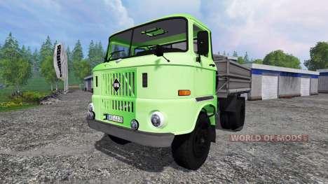 IFA W50 [зелёный] для Farming Simulator 2015