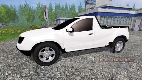 Dacia Duster Pickup для Farming Simulator 2015