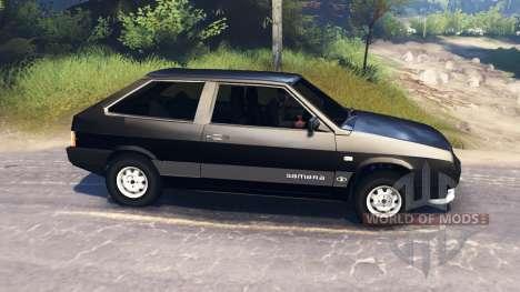 ВАЗ-2108 v2.0 для Spin Tires