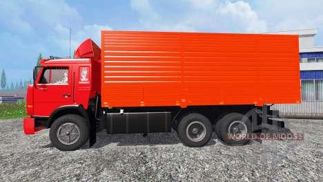 КамАЗ-53212 [красный] для Farming Simulator 2015