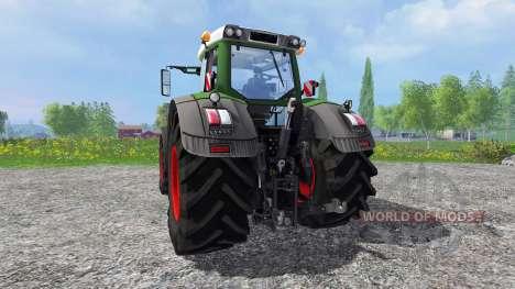 Fendt 939 Vario v2.0 для Farming Simulator 2015