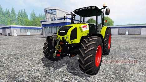 CLAAS Axos 330 v2.0 для Farming Simulator 2015