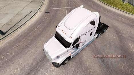 Скин P.A.M.Transport на Freightliner Cascadia для American Truck Simulator