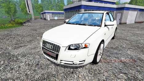 Audi A4 (B7) для Farming Simulator 2015