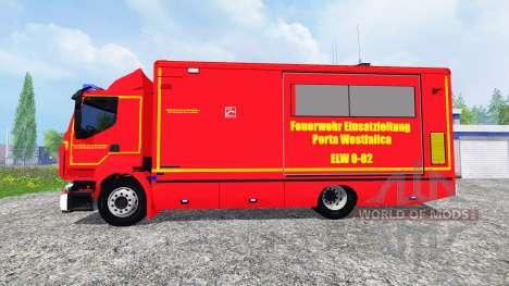 Renault Premium Porta Westfalica ELW для Farming Simulator 2015