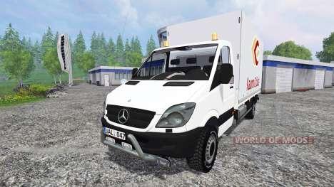 Mercedes-Benz Sprinter для Farming Simulator 2015